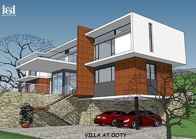 Villa at Ooty