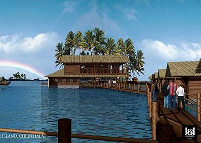 Pristine Island Floating Resort, Cherthala, Kerala